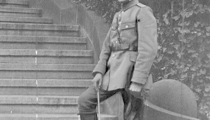 Alfons Zgrzebniok, dowódca POW GŚl