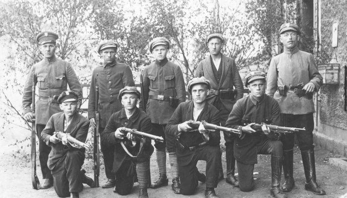 III powstanie śląskie, grupa powstańców