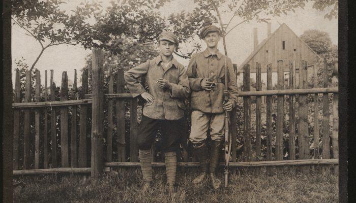 Młodzi powstańcy 1919