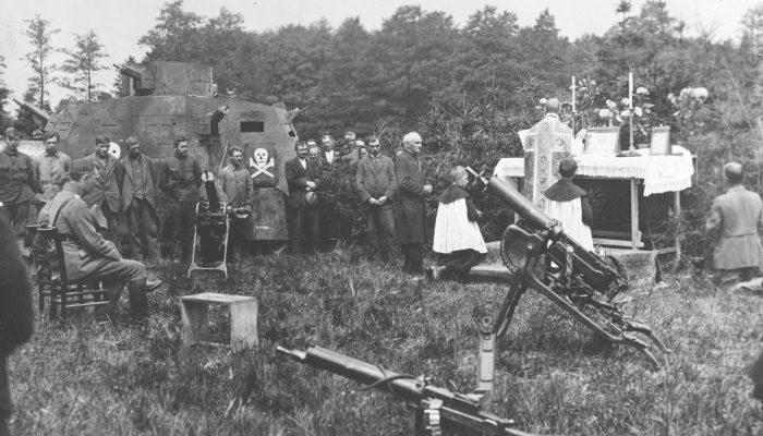 Msza polowa III powstanie Sląskie 1921