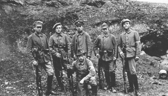 oddział powstańczy 1920