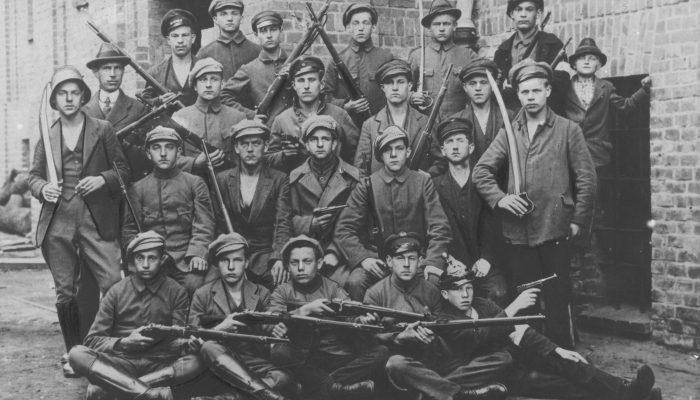 oddział powstańczy z Katowic 1921 rok